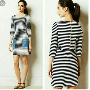 Anthro Tabitha striped dress